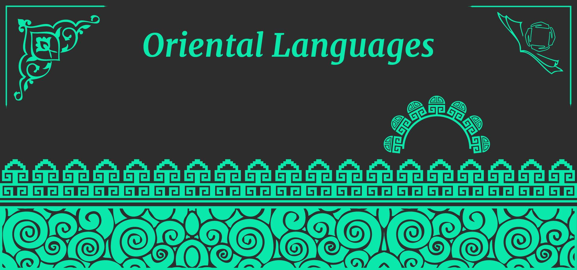 Oriental languages centro alif pisa